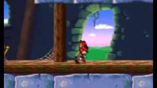 Aero the Acro-bat 2 - SNES Gameplay