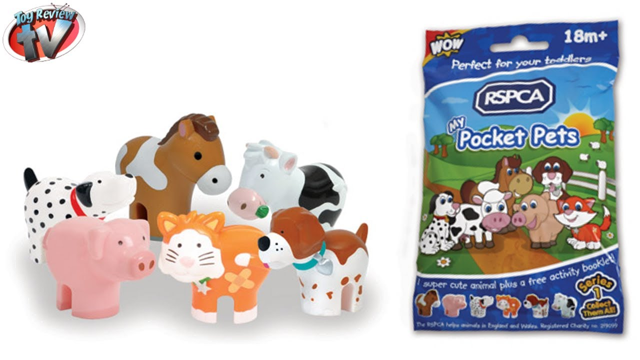 Rspca My Pocket Pets Blind Bag Series 1 Toy Review Wow Toys Youtube