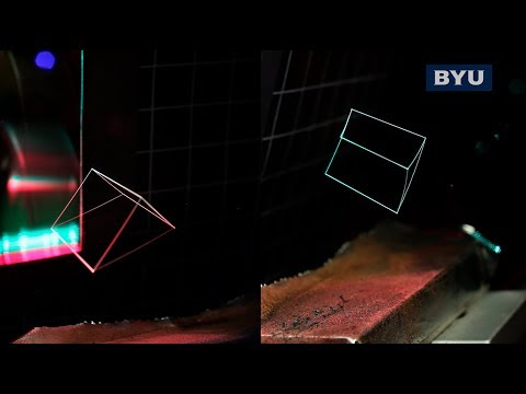 3D printing with light: Scientists create 3D holograms