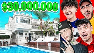 WELCOME TO THE NEW FAZE HOUSE 2020 ($30,000,000)