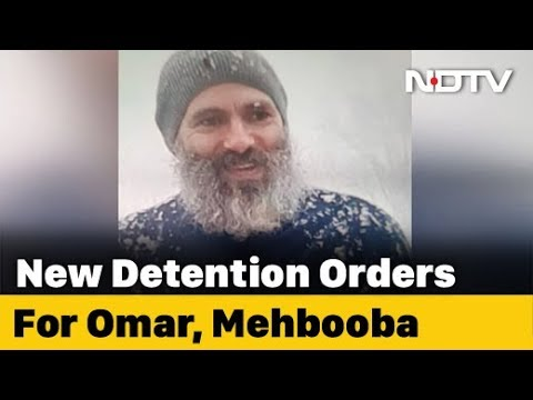 Omar Abdullah, Mehbooba Mufti Charged Under Public Safety Act