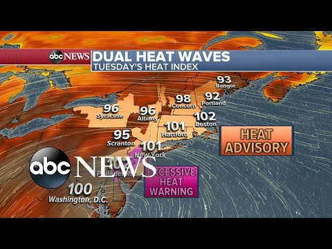 Record Shattering Heat Records Across The Country