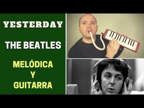 """""""yesterday""""-de-the-beatles-con-melódica-y-guitarra-(incluye-notas-y-acordes)"""