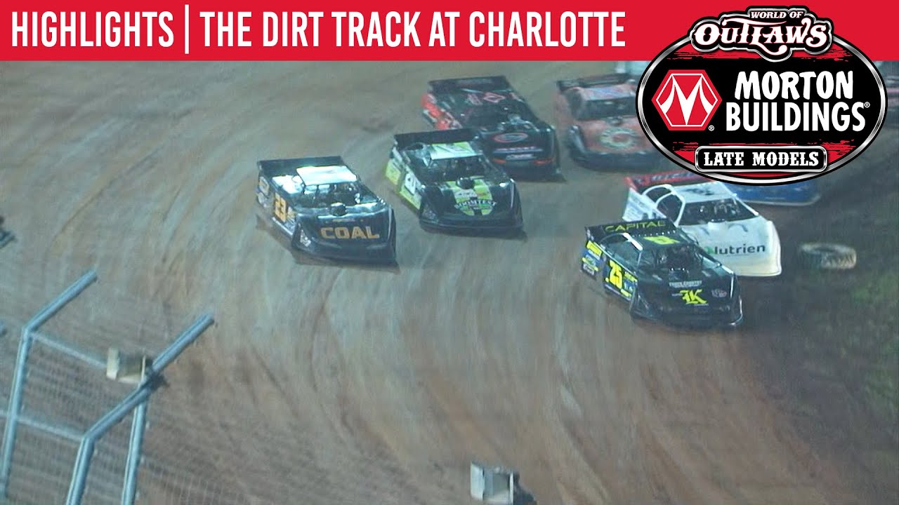 World of Outlaws Late Models The Dirt Track at Charlotte, Nov 9th, 2019 | HIGHLIGHTS