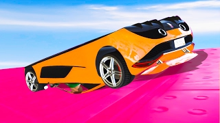 UPSIDE DOWN CAR RACE! (GTA 5 Funny Moments)