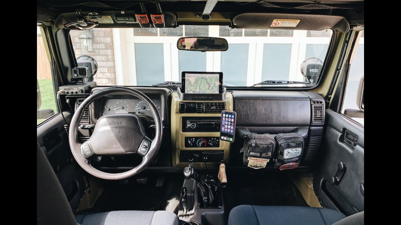 Diy Jeep Tj Interior Mods