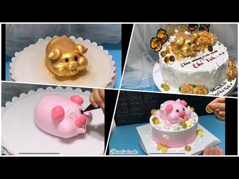 P2 Top 3 mẫu bánh kem Tuổi Heo cực hot | Dieulinhcake | Foci