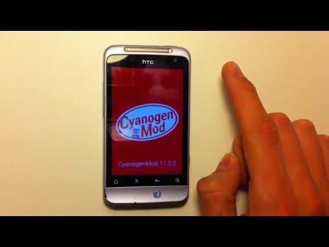 htc salsa android 4.4.4 (CM11) смартфон  за 20$