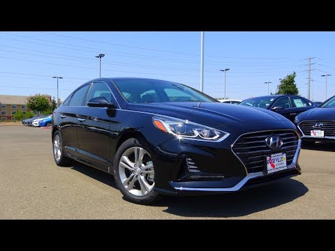 2018 Hyundai Sonata Limited 2.4 L 4 Cylinder Review