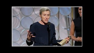 WTF with Frances McDormand getting bleeped at Golden Globes