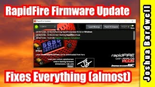 How To Update ImmersionRC RapidFire Firmware | MUST UPGRADE