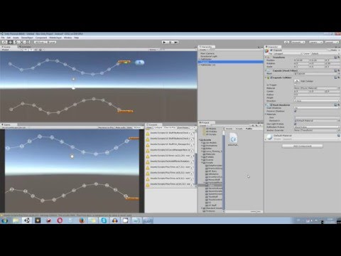 Unity 5 Tutorial: Path Follow System using Waypoints C#