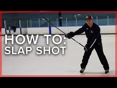 Mastering The Slap Shot   Hockey Tips
