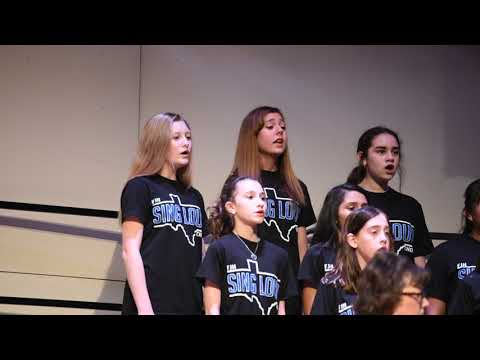 Fairmont Junior High School- Chorale Choir- A Choral Flourish- 10.16.2018