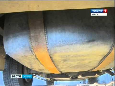 Украинский автомобиль особой конструкции задержан курскими таможенниками
