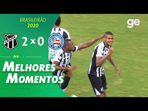 CEARÁ 2 X 0 BAHIA | MELHORES MOMENTOS | 5ª RODADA BRASILEIRÃO | ge globo