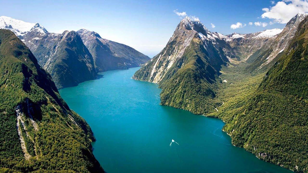 Южный остров Новой Зеландии I Лучшие путешествия I Страны Тихоокеанского бассейна