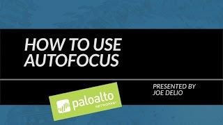 Tutorial: How To Use AutoFocus