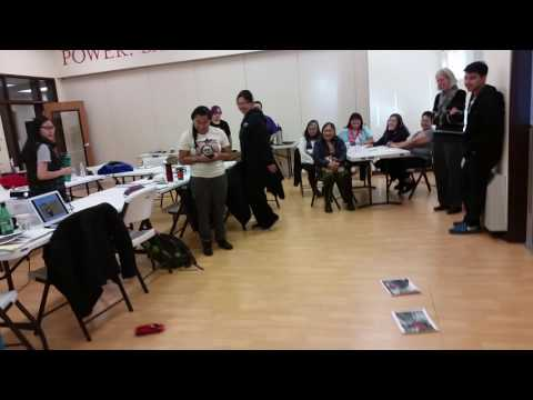 Remote control game in Inupiaq pt 1