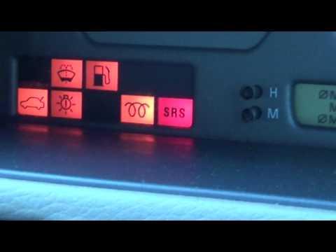 Volvo P80 Dashboard Warning Lights On European Models (850 S70 V70 C70)
