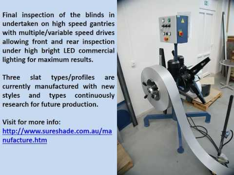 Sure Shade - Aluminium Blinds Manufacture
