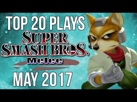 Top 20 SSBM Plays of May 2017 - Super Smash Bros  Melee
