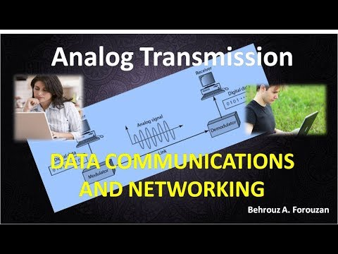 05 DATA COMMUNICATIONS AND NETWORKING Analog Transmission