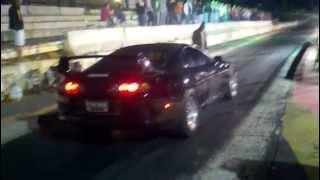 Crazy Toyota Supra Drag 1/8
