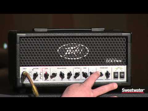 Peavey 6505 Mini Head Guitar Amplifier Demo by Sweetwater Sound