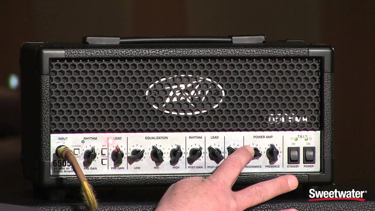 peavey 6505 mini head guitar amplifier demo by sweetwater sound youtube. Black Bedroom Furniture Sets. Home Design Ideas