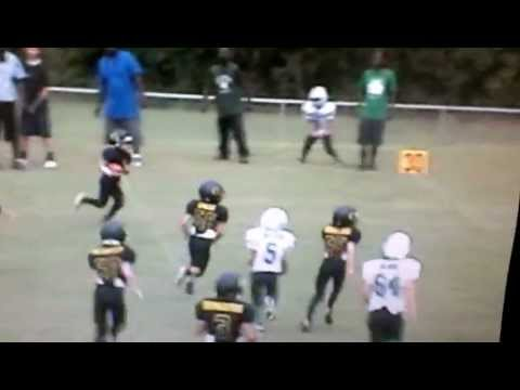 TAVIUS FRANCIS-9YR OLD STAND OUT-LITTLE LEAGUE FOOTBALL HIGHTLIGHTS