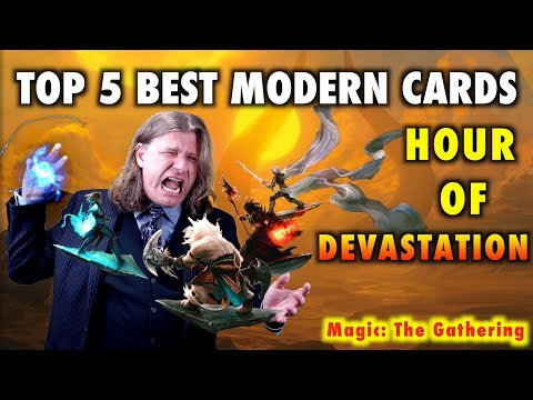 MTG - Top 5 Best Modern Cards from Hour of Devastation for Magic: The Gathering