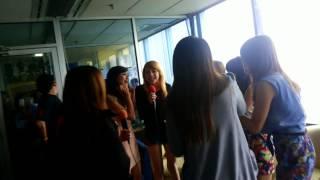 """Cherrybelle - """"Diam-diam Suka"""" at 99ers Radio"""