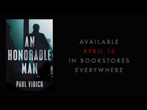 Trailer of An Honorable Man Cold War espionage novel set in 1953