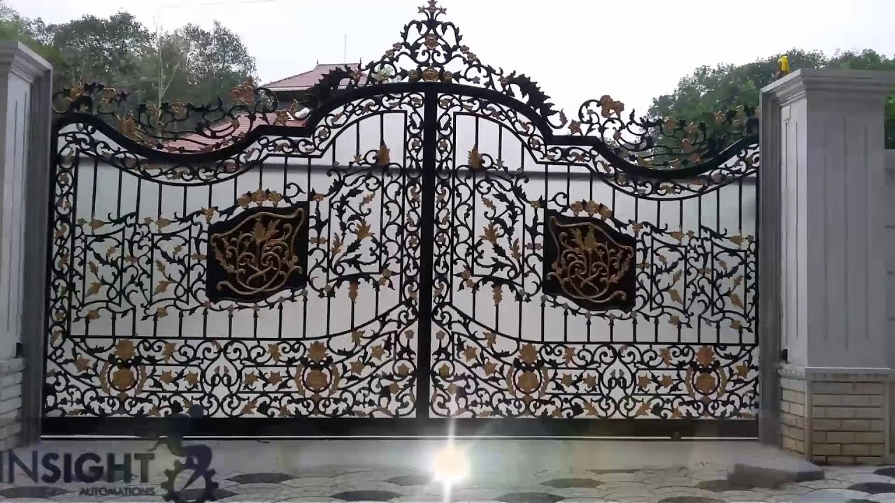Gate designs youtube for International decor main gates