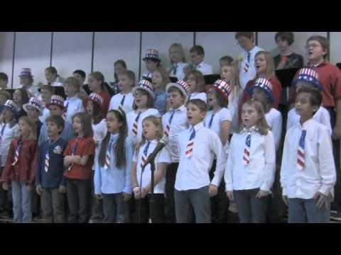 Veterans Day Program at Labadie Elementary School 2011