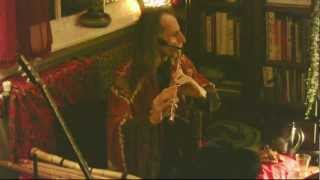 Spooky Silver Funky Flute Tune - Avi Adir house concert - www.WoodsWhistling.com