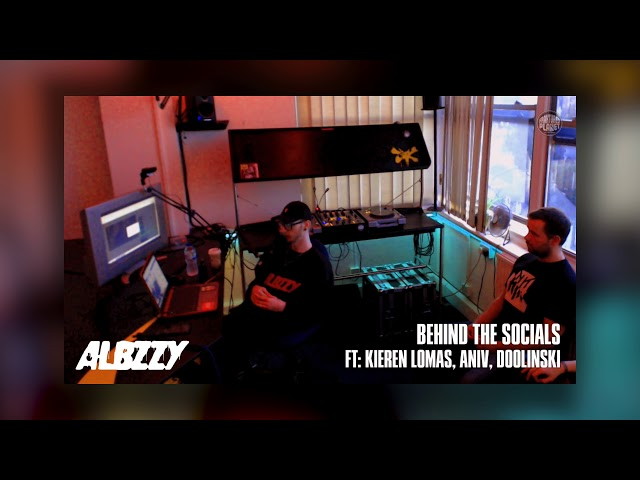 ALBZZY: Behind the Socials [002] W/ Kieren Lomas, Aniv & Doolinski - FP Radio.