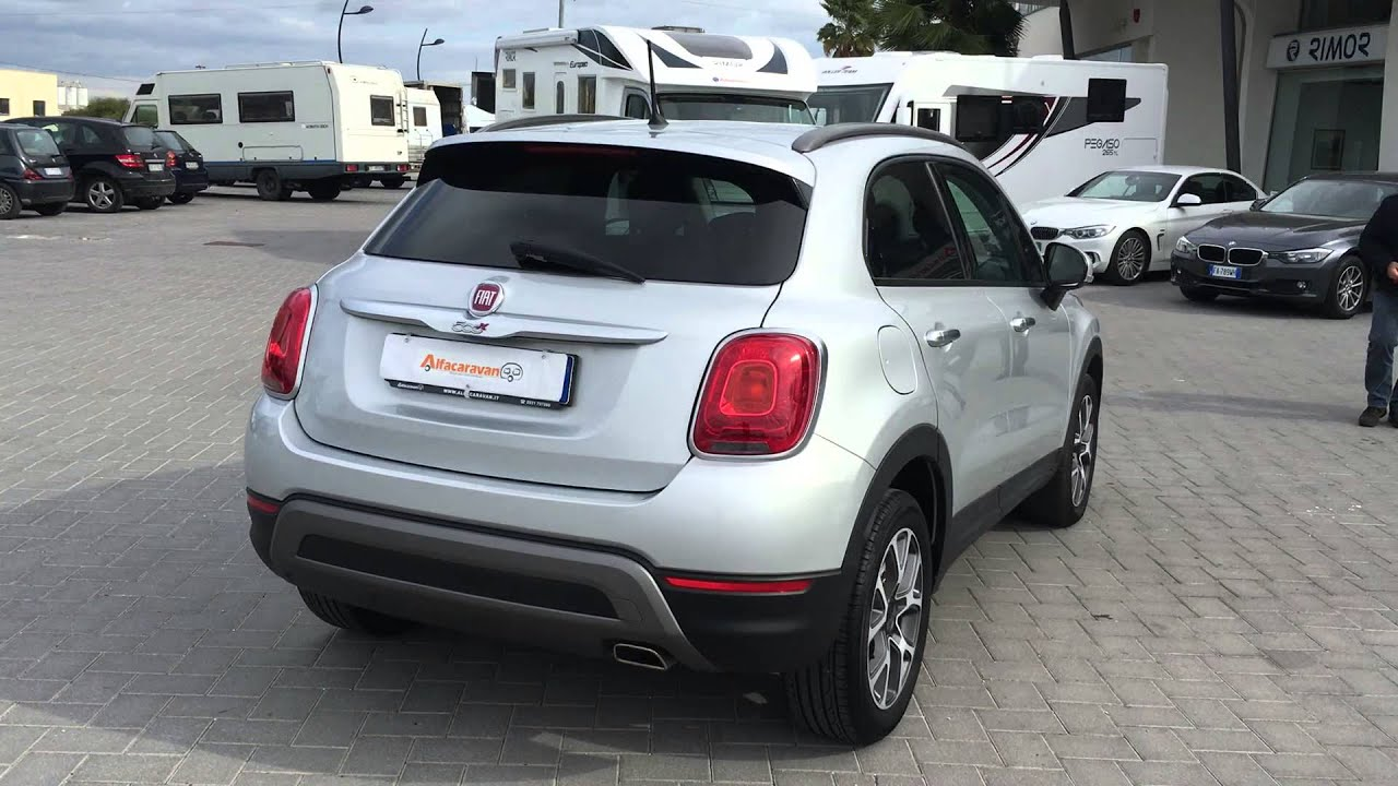 fiat 500x cross 1 6 multijet youtube. Black Bedroom Furniture Sets. Home Design Ideas