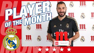 Benzema, Five Star Player of the Month for September!