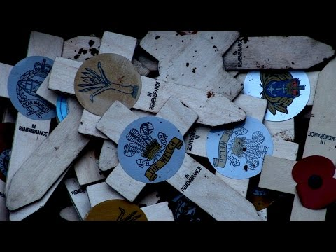 'Trench', a film by artist David Marchant