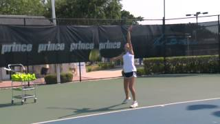 Serve Positoning - Court Positioning Series by IMG Academy Bollettieri Tennis (1 of 5)