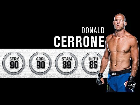 EA Sports UFC 3 - The Absolute Best Fight I've Had Yet! - Donald Cerrone!!