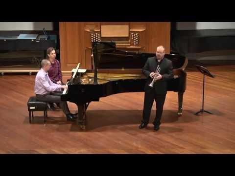 Haydn - Concerto in Eb. Mark Fitzpatrick - Trumpet, Peter Baker - Piano.