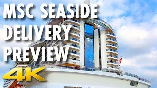 Watch as MSC Cruises takes delivery of the MSC Seaside from the Fin...