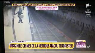 Imagini șocante! Întregul film al crimei de la stația de metrou Dristor 1