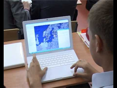 Moscow School of the Future Project GIS and Interactive Boards