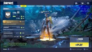 Fortnite COMPLETED Season 4 Battle Pass! *Tier 100 Challenges* [PS4]