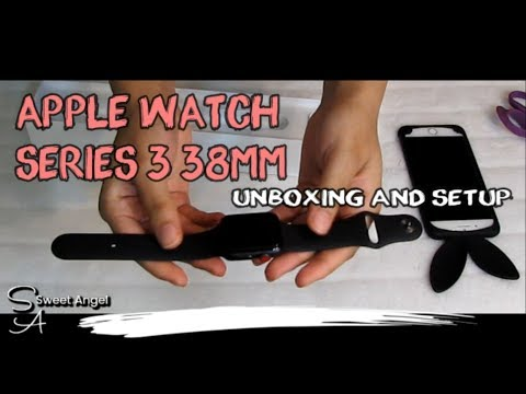 apple-watch-series-3-38mm---space-gray---black-band-|-unboxing-and-setup