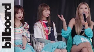 EXID Discuss How Their Friendship Has Grown in Seven Years as a Band | KCON 2018